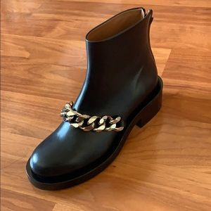 Givenchy Laura chain link ankle boots LEFT SHOE